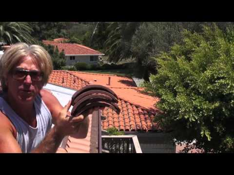 Fastest Roofer How to Install Clay S Tile Booster Pieces Palos Verdes HOA