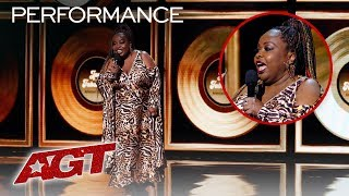 ALL Performances From Jackie Fabulous (FUNNY! Don't Miss This) - America's Got Talent 2019