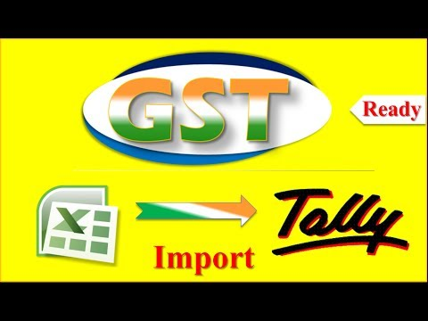 Excel to Tally GST ☑️