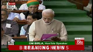 PM Modi introduces council of ministers to the Lok Sabha