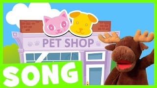 Let's Go Shopping Song #2 | Simple Song for Kids