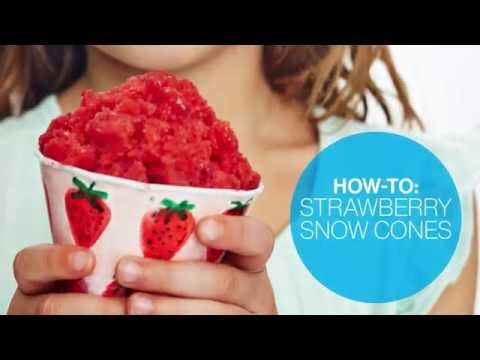 How to make strawberry snow cones | Canadian Living