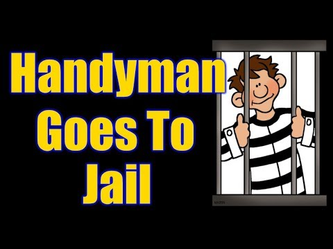 How To Be A Handyman And Not Go To Jail Episode 2 | THE HANDYMAN |