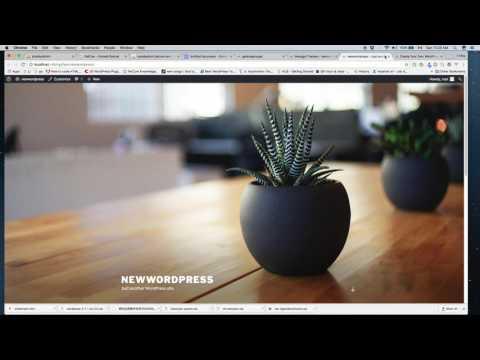 Convert HTML template to Wordpress