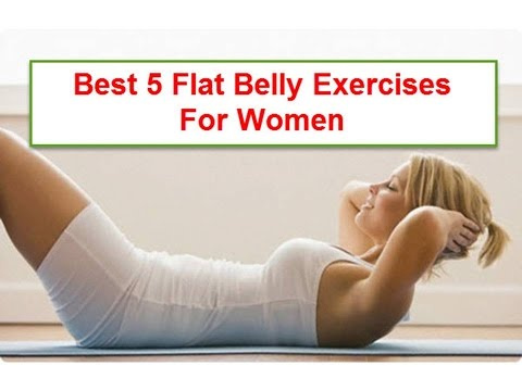 Flat Belly Exercise For Women and Men at Home (Most Recommended)