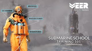 How Indian Submariners undergo training in Submarine School - INS Satavahana || Veer By Discovery