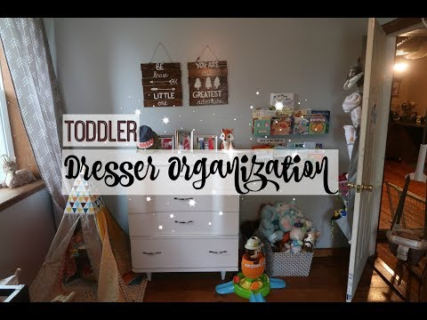 TODDLER DRESSER ORGANIZATION | EASY LAUNDRY TIPS | COLLAB!