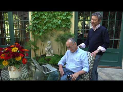 Episodes creators David Crane & Jeffrey Klarik talk about their writing space