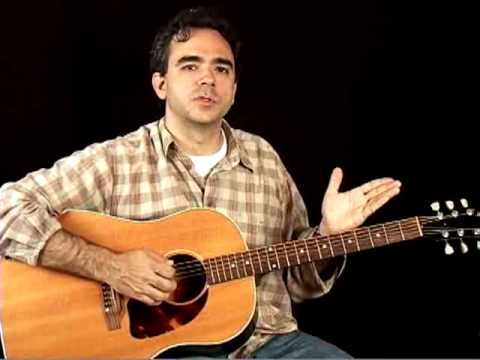 How to Play Acoustic Guitar - Lessons for Beginners - Tuning the Guitar