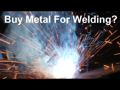 Where To Buy Metal For MIG Welding?