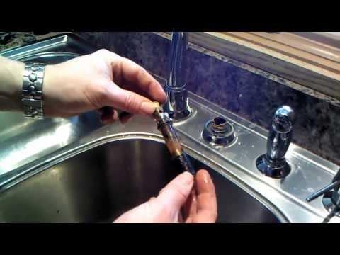 Moen Kitchen Faucet 1225 Cartridge Repair or Replacement