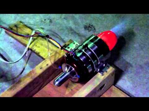 ATJ 120Ti RC Jet turbine engine