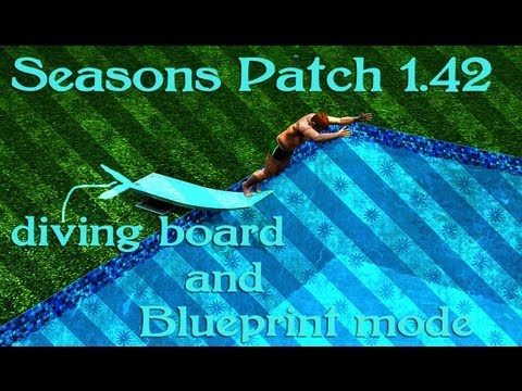 Seasons Patch 1.42:Blueprints a New Ghost and a Diving Board