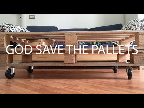 Build your own furniture - GOD SAVE THE PALLETS