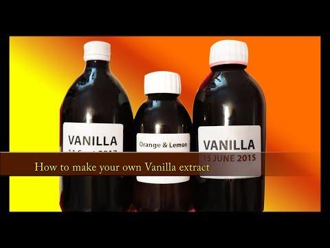 Vanilla Extract made at home