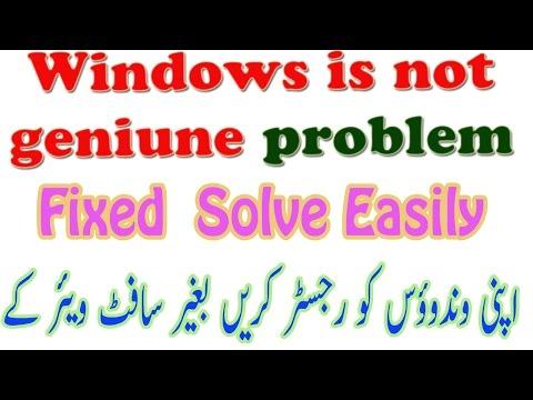 2017 Windows 7 Not Genuine FIX Build 7601 | Solve Easily