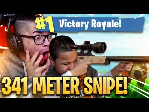World Record Longest Snipe Ever In Fortnite By A 9 Year Old