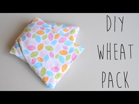 DIY | How to Make Wheat Packs, Heat Pack DIY or Cold Pack DIY | Ali Coultas