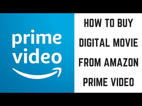 How to Buy a Digital Movie from Amazon Prime Video