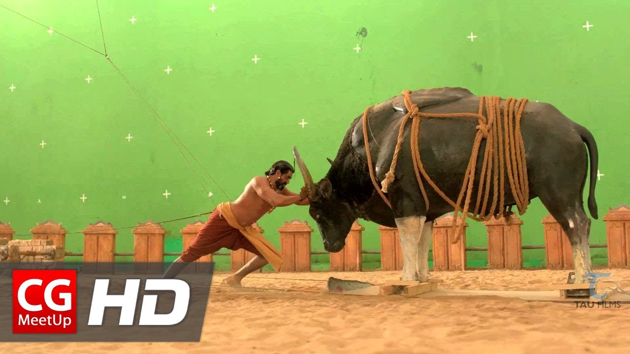 Making of Baahubali VFX - Bull Fight Sequence by Tau Films   CGMeetup