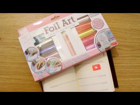 How To Make Stickers Using Foil Art