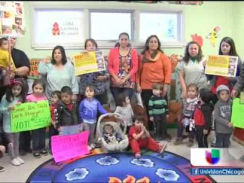 Univision Gurnee: Child care providers fight to save Illinois' vital program for working families
