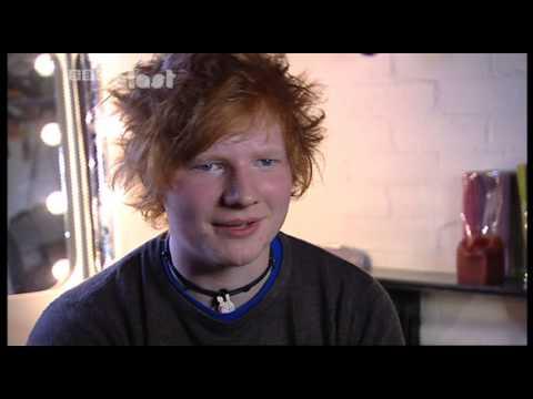 Ed Sheeran (first TV interview before
