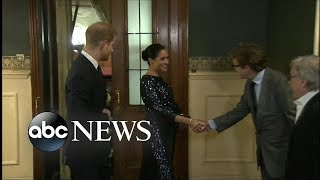 Meghan Markle and Prince Harry attend Cirque du Soleil