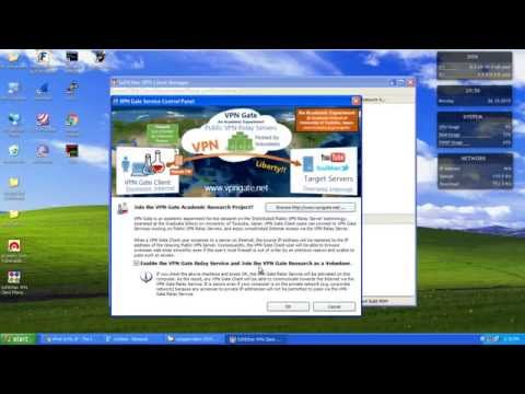 How to install and Using VPN Gate on Windows