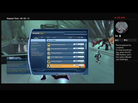 Spending $20 On stabilizers For Dc universe Online