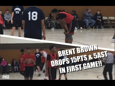 Brent Brown DROPS 15 & 5 to help get the win in a close CYC Game!! | 70-62