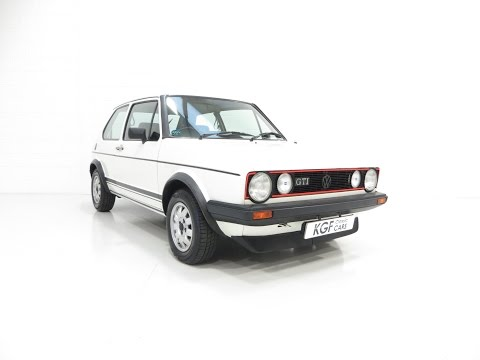 A Legendary Mk1 VW Golf GTi with Complete History File and 91,208 Miles - SOLD!