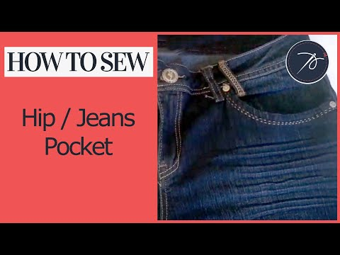 Creating a Hip / Jeans Pocket