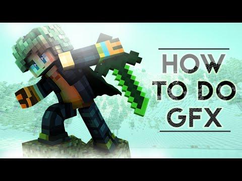How to make Minecraft GFX   Photoshop Tutorial