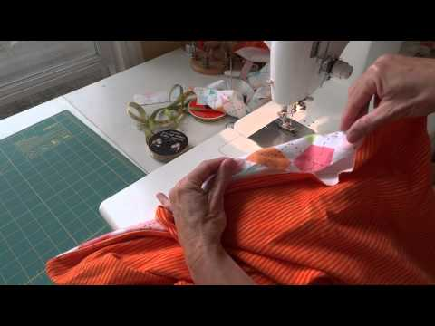 How make a simple flannel blanket for baby