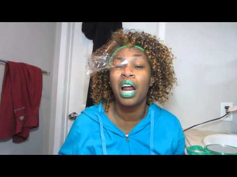 How to Wax your face - GloZell
