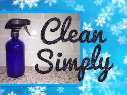 VLOGMAS 2: DIY Essential Oil All-Purpose Cleaning Spray