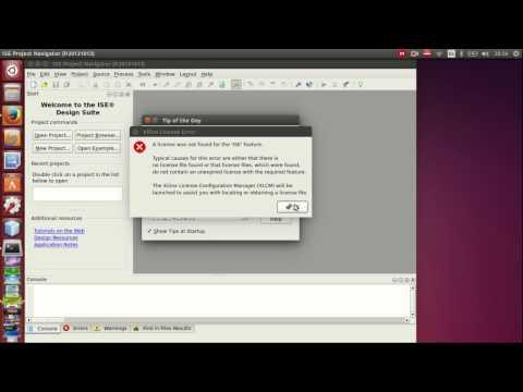 Xilinx install and running on Ubuntu