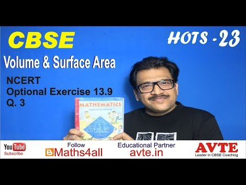 The diameter of a sphere is decreased by 25%. By ..... Volume Surface HOTS 23