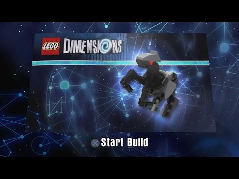 Bionic Steed Build Instructions LEGO Dimensions   Excalibur Batman Fun Pack