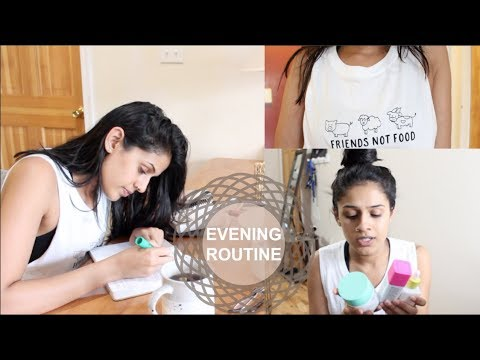 EVENING ROUTINE | CLINICAL STUDENT