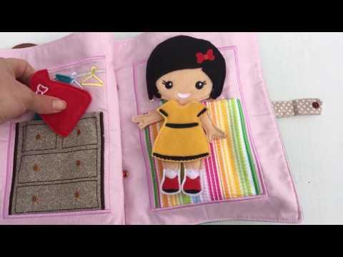 Handmade Cloth Activity Book