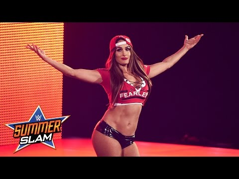 Xxx Mp4 Nikki Bella Makes Her Surprise Return SummerSlam 2016 Only On WWE Network 3gp Sex