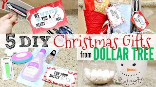 5 DIY DOLLAR TREE CHRISTMAS GIFTS People Will ACTUALLY want   CHEAP CHRISTMAS GIFT IDEAS