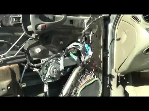 2002 Pontiac Grand Am   Front Drivers Side Window Motor Replacement