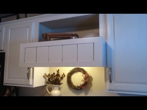 Build a Custom Cover for a Range Hood - DIY Home - Guidecentral
