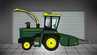 Agricultural machinery | Construction | Garage | Maszyny Rolnicze - Kombajn