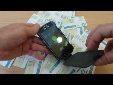 X-Case Samsung Galaxy S Duos II (2) S7582 Carbone Flip Black