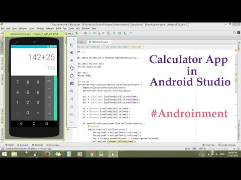 How to make Calculator in Android Studio