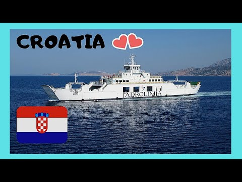 CROATIA: Spectacular FERRY RIDE ride from SPLIT to island of HVAR and back